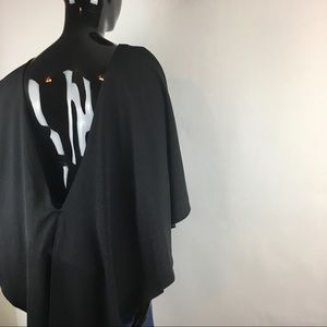 H&M V-Back Blouse